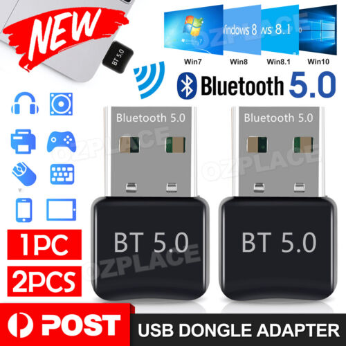 Laptop Windows - Bluetooth Dongle Usb V5.0 Wireless Adapter For Windows 10 PC Laptop Universal