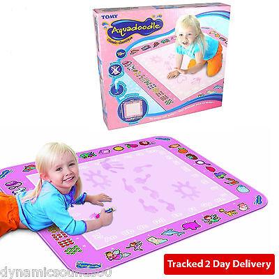Tomy 72014 Pink Aquadoodle AquaDraw Kids Water Magic Classic Large Drawing Mat