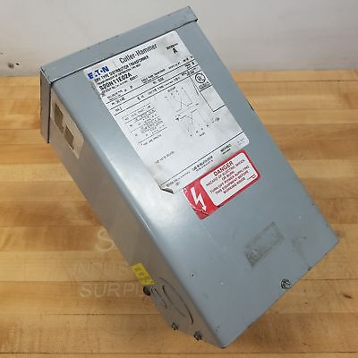 Eaton Cutler-hammer S20n11e02a Dry Type Distribution Transformer 2kva - Used