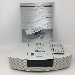 Bose Wave Radio AWRC-1P CD Player AM/FM Stereo Alarm Clock Remote Manual Tested!