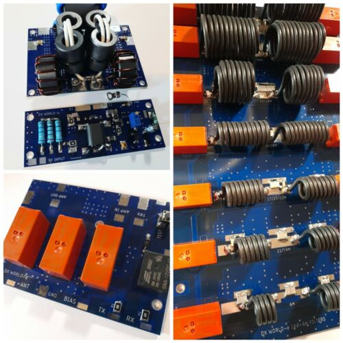 1200W HF/6m LINEAR AMPLIFIER KIT (3 BOARDS) FOR BLF188XR MRF1K50H MRFX1K80H