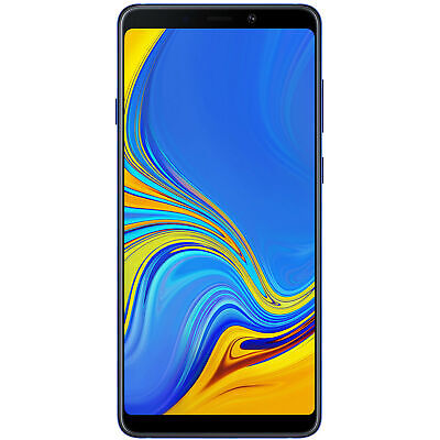 Samsung Galaxy A9 (2018) A920F 128GB Unlocked GSM Dual-SIM Phone - Lemonade Blue (Lemonade Bar)