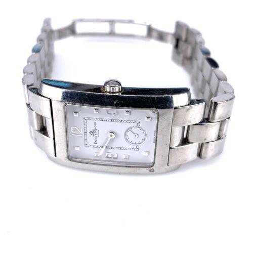 Baume & Mercier Hampton MV045063 25mm Stainless Steel Swiss Watch