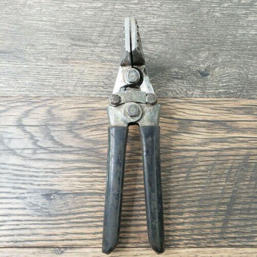 "MALCO Tool Seamer (S-2) Sheet Metal Press HVAC Tin Ducting 3-1/4"" Bender Crimper"