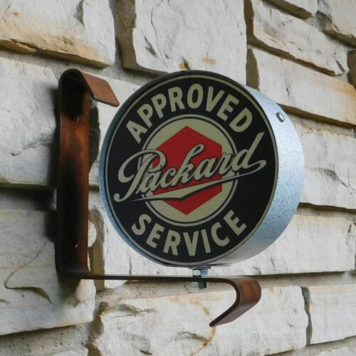 Packard Car miniature wall post service Sign USA made