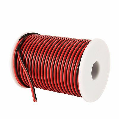 C-able 100FT 18 Gauge Copper Electrical Wire Low Voltage 12V DC Wire Hookup R&B