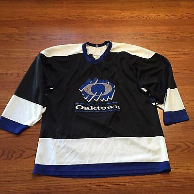 NHL Rbk CCM Authentic Oaktown Oakland  Hockey Jersey Rare Size Xl for sale  Oakland