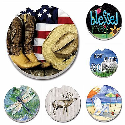 - Absorbent Stone Car Coasters by CounterArt, Singles, Buy 2 or More & Save 20%