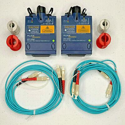 Fluke Networks Dtx-gfm2 Gigabit Mutlimode Fiber Optic Modules For Dtx-1800