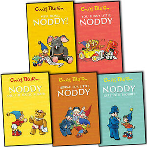 Enid Blyton Noddy Classic Collection 5 Books Collection Pack Set New