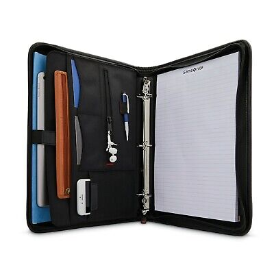 Samsonite Xenon Business 3 Ring Multi-pocket Organizer Padfolio - New