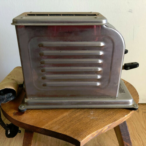 Vintage Antique Automatic ElectricToastmaster Chrome MC