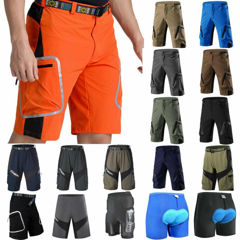 Herren Fahrradhose Kurz Hose Atmungsaktive MTB BMX Hosen Sport Shorts Radlerhose