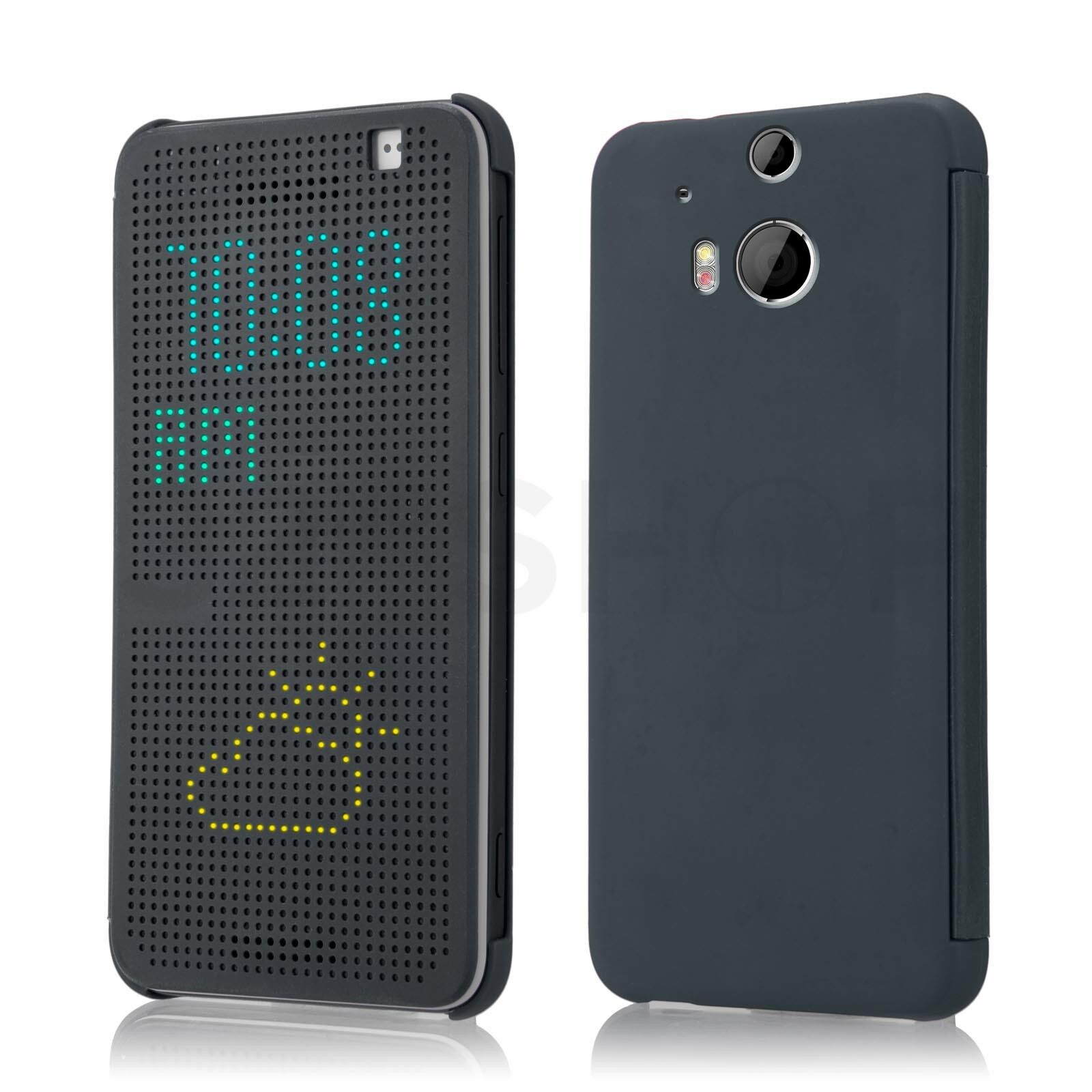 Dot Matrix Display Case Cover For HTC Desire EYE & HTC One ...
