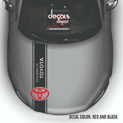 2005-2019 Toyota Tundra Sr, SR5 Limited Platinum TRD Pro Hood Decal Stripes NEW