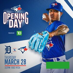 Toronto Blue Jays Home Opener Tickets