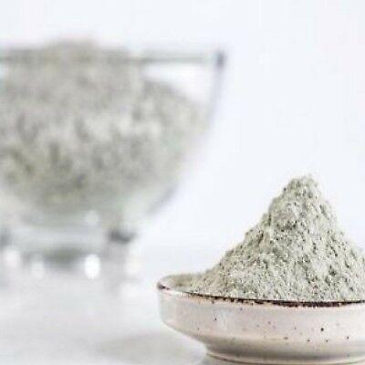 Organic White Kaolin Clay Fine Powder food grade edible Face Mask Skin detox  - Fine White Clay