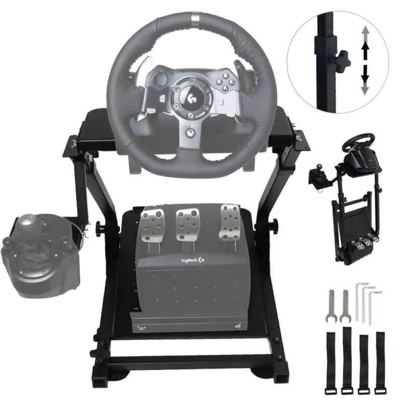 Racing Simulator Steering Wheel Stand For Logitech G27 G29 PS4 G920 Gear Shifter