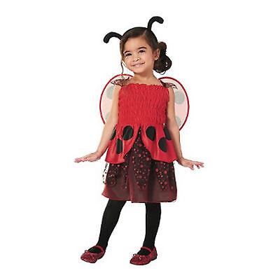 Target Toddler Girls 3 Piece Ladybug Halloween Costume with Wings, 18-24 months (Target Toddler Halloween Costumes)