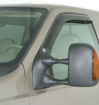 1994 - 2005 Chevrolet S-10 Pickup 2-Piece In-Channel Wind Deflector Shades Chevrolet S10 Pickup 2 Piece