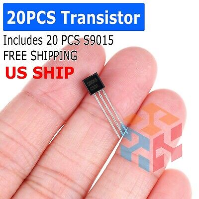 2n3906 20 Pcs General Purpose To-92 Pnp Transistorb331 - From Usa