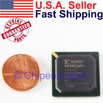 Xilinx Spartan-3e Xc3s1000 Fpga W 17280 Logic Cells 100000 System Gates