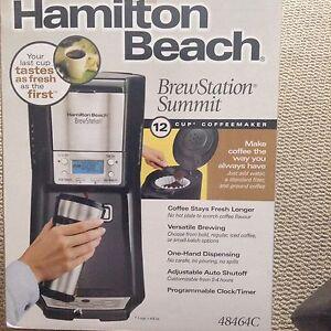 Hamilton beach brew station (never used)