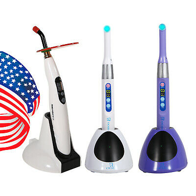 Usa Woodpecker Style Dental Cordless Wireless Iled Led-b Curing Light Lamp Bd