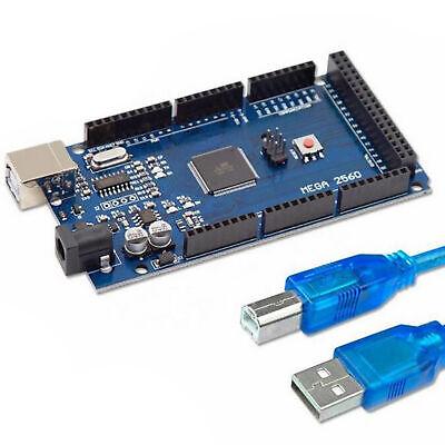 For Arduino Mega 2560 R3 Atmega2560 W Atmega16u2 Dev Board With Usb Cable