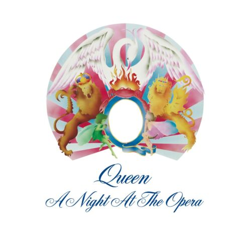 QUEEN A Night at the Opera BANNER HUGE 4X4 Ft Fabric Poster Tapestry Flag art