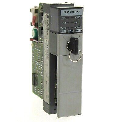 Allen Bradley 1747-l542 A Slc 500 Slc 504 Cpu Processor Unit Frn 5