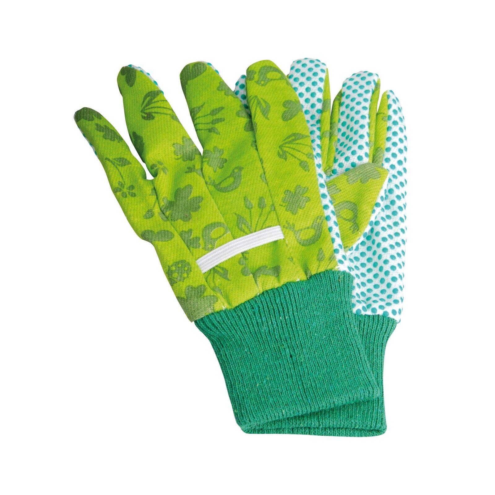 Kinderhandschuhe Handschuhe Gartenhandschuhe Kinder grün Garten