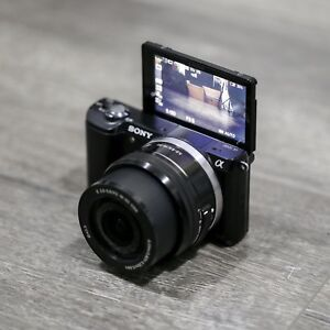 Sony Alpha a5000 Mirrorless Camera with 16-50mm OSS Lens (Black)