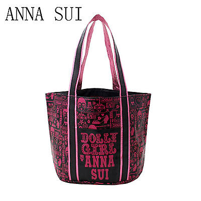 Lady Women Girl JAPAN ANNA SUI Organiser Travel Shoulder Tote PU Shopping Bag  for sale  Shipping to United States