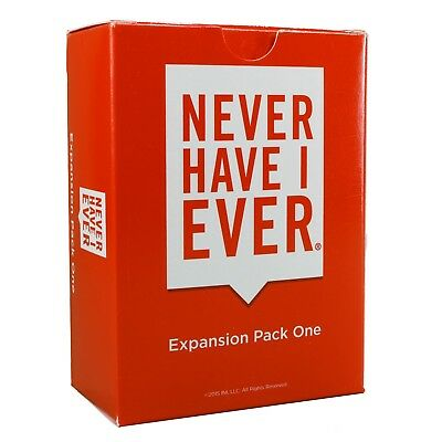 Never Have I Ever, Expansion Pack One  ()
