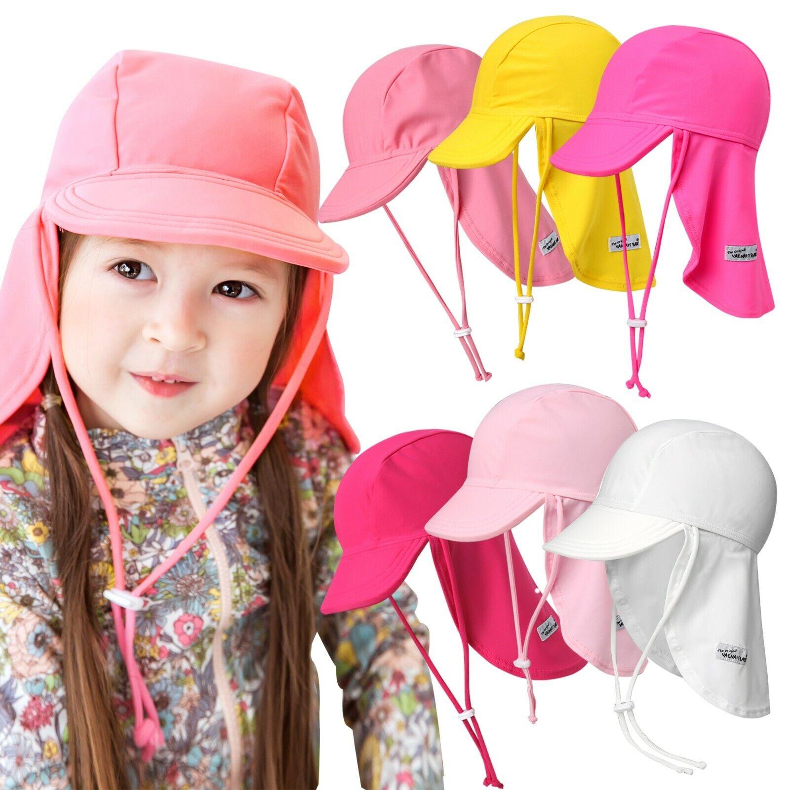Vaenait baby Infant Kids Girls Sun Protection Sporty Flap Sw