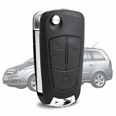 Estuche Con Llavero 3 botones remotos Plegable Coche Para Opel Corsa Astra