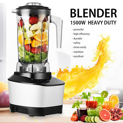 Screen Touch Control 2l 1500w Commercial High Speed Blender Juicer Food Smooth