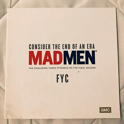 MAD MEN - FINAL SEASON - BEST EPISODES - AMC FYC EMMY DVD - RARE - BRAND