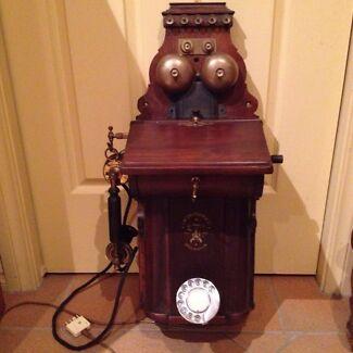 Antique Ericcson wall phone Lilli Pilli 2229 Sutherland Area Preview