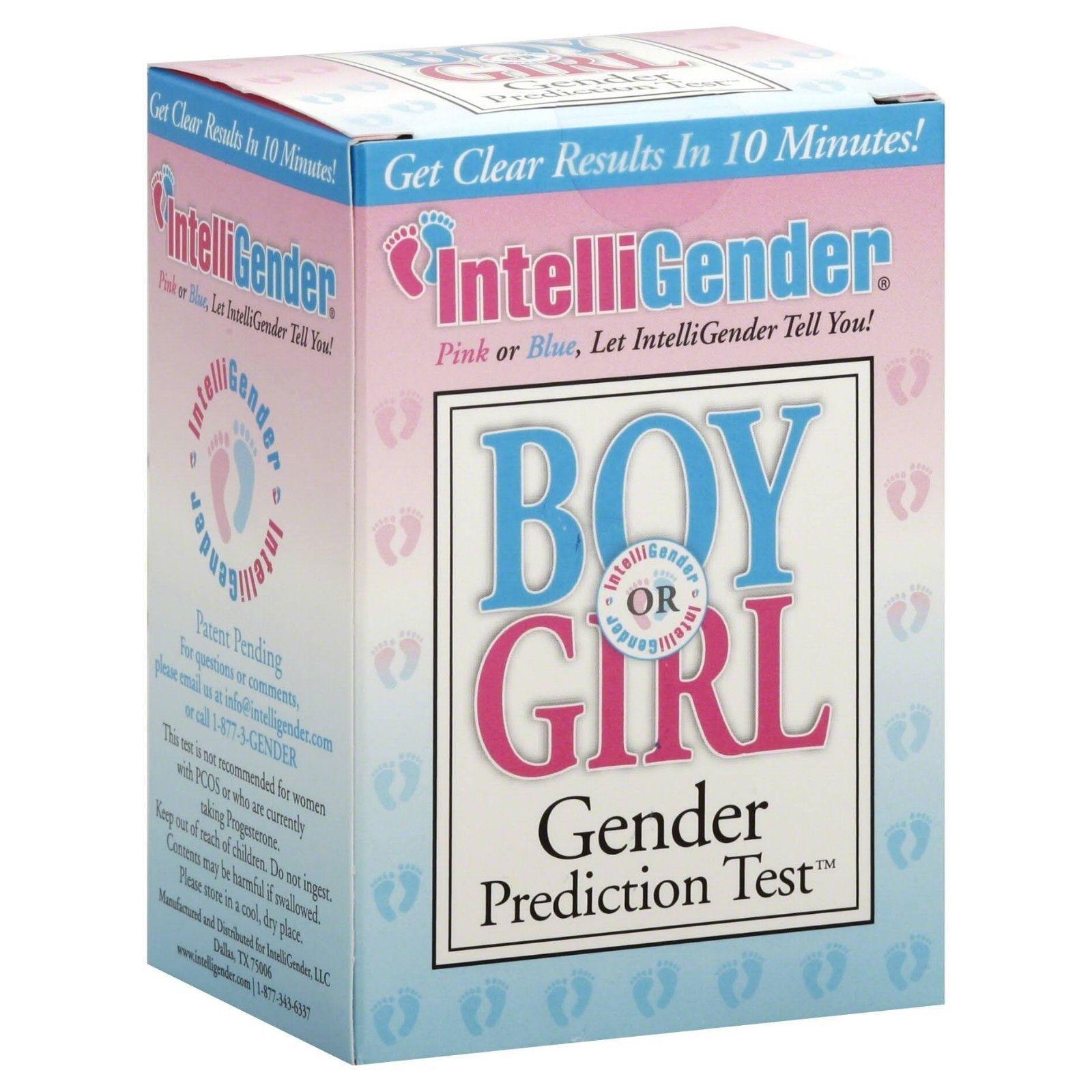 IntelliGender Boy or Girl Gender Prediction Test Results in Minutes