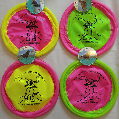 Flying Disc Toy (SOFT FLYING DISC FRISBEE DOG TOY 10