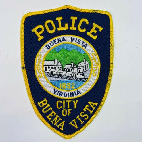 Buena Vista Police Virginia VA Patch (A4)