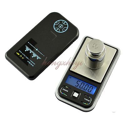 100g x0.01g Mini Jewelry Gram Carat Scale Pocket Electronic Weighing Balance 445