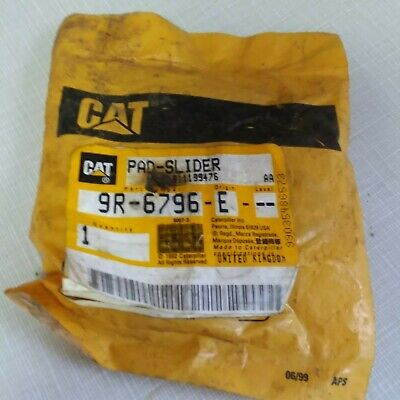 Nos Oem Caterpillar Backhoe Loader Pad Slider 9r-6796 416b 428 446 Pad