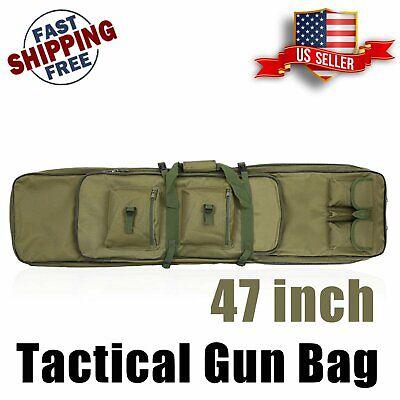Classic Tactical Double Long Rifle Pistol Gun Bag Firearm Transportation -