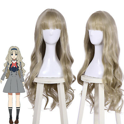 DARLING in the FRANXX 556 KOKORO Ash Blonde Cosplay Wig 35
