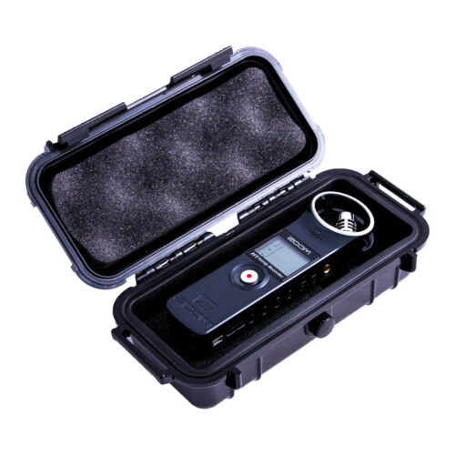 CM Hard Case for Zoom H1N Handy Recorder in Waterproof Shell , Travel Case Only