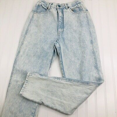 LA Gear Vintage Jeans Size 9/27 High Waist Light Wash , used for sale  Crouse