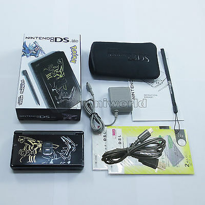 Brand New Pokemon Black Nintendo DS Lite HandHeld Console System + gifts